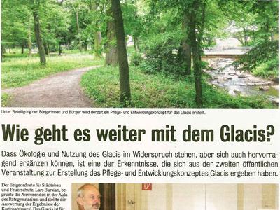 Pressespiegel Landschaftsarchitektur Ehrig